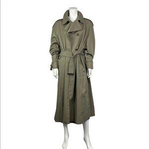 Vintage Aquascutum London trench coat